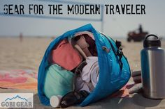 The HOBOROLL is the perfect stuff sack for the modern traveler. It solves all of your packing problems with 5 organized compartments. Check us out on gobigear.com!