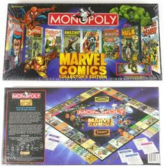 Contemporary Manufacture 180349: Sealed Monopoly Marvel Comics Collector S Edition Board Game Pewter Pieces Nib -> BUY IT NOW ONLY: $92.95 on eBay!