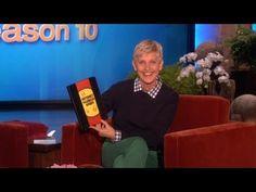 This is just too funny -- and leave it to Ellen to make it funnier!