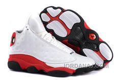 Air Jordan 13 Retro White/Black-True Red Free Shipping 5565