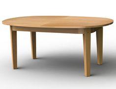 Garrat Oiled Oak Oval Dining Table