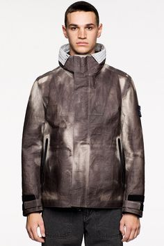 b5f894fa0ff Stone Island, Hooded Jacket, Bow Ties, Bonded Leather, Transgender, Active  Wear