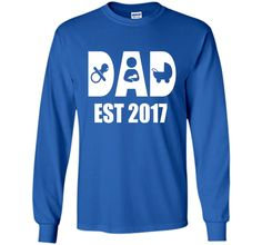 892f5ee19 Happy First Time Dad Shirt - Best Gift Father's Day 2017.  SweatshirtsSweatersT ...