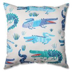 Pillow Perfect Croc Rhythm Throw Pillow - 5567