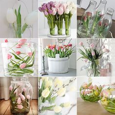 Tulips – World of Flowers Plastic Vase, Plastic Bottle Art, Easter Table Decorations, Flower Decorations, Christmas Decorations, Home Flowers, Tulips Flowers, Flower Bouquet Boxes, Flower Bomb