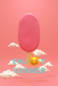 ENJOY SUMMER by MountStar , via Behance