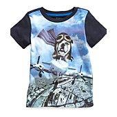 Epic Threads Kids T-Shirt, Little Boys Flying Dog Tee
