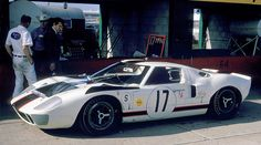 Ford GT40 at Sebring 1967 by Nigel Smuckatelli,