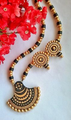 Black Bell Terracotta Terracotta Jewelry set – TRADENIMBO