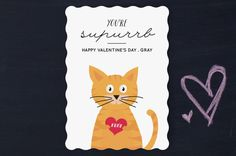 Supurrb Valentine Classroom Valentine's Day Cards by Anupama at minted.com