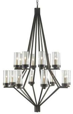 Currey and Company - 9464 #FilamentLighting #chandeliers