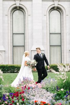 SLC Temple Wedding // Utah Wedding Photographer // kenzievictory.com