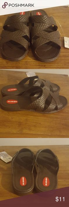 Jandals looking rubber sandals Jandals looking rubber sandals okabashi Shoes Sandals