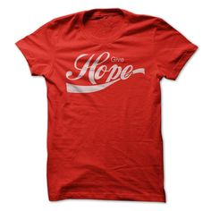 Give Hope - It's ⑥ refreshing!Give hope to orphans around the world. With every shirt purchased a percentage is donated to the World Orphans Organization.love give coke coca-cola faith christian jesus god funny