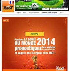 Sixt - Pronostics Facebook Contest #Socialshaker