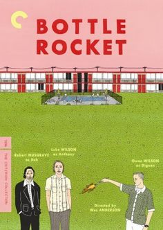 Bottle Rocket (1996)~Ain't it funny how you used to be in the nut house and now I'm in jail?