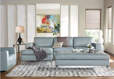 picture of Brandon Heights Hydra 3 Pc Sectional Living Room  from Leather Living…