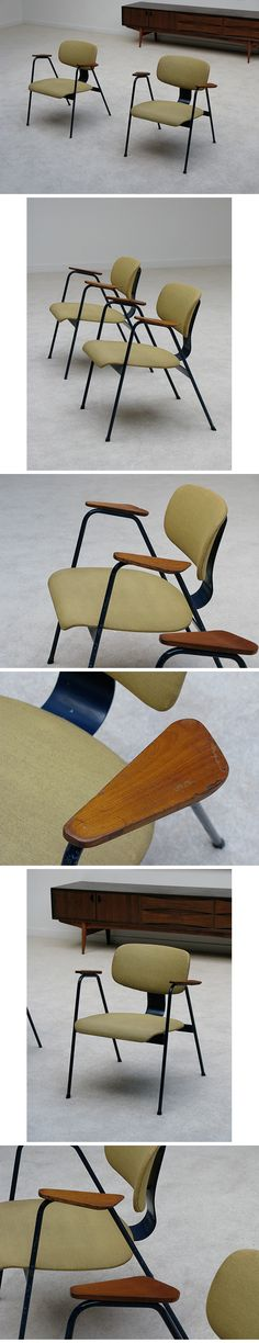 T1 Chairs by Willy Van Der Meeren for Tubax