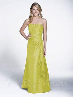 Pretty Maids Bridesmaid Dress - 22524 www.ivorybridalatl.com Bridesmaid Dresses Plus Size, Bridesmaids, Shopping In Atlanta, Strapless Dress Formal, Formal Dresses, Bridal And Formal, Pretty, Inspiration, Fashion