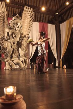 Traditional Balinese dance in #Indonesia