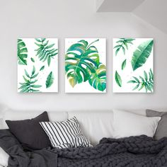 simple healthy dinner recipes for kids ideas christmas decorations Wall Decor, Room Decor, Plant Art, Art Mural, Wall Art, Tropical Decor, Botanical Prints, Decoration, Watercolor Art