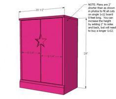 I want to make this!  DIY Furniture Plan from Ana-White.com    It will be perfect for my Diva Chloe Belle