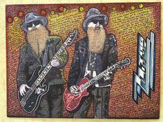 My Sharpie Scribble Style Art - Sharpie Drawings, Sharpie Art, Sharpie Markers, Sharpies, Zz Top, Bear Art, Fun Challenges, Jimi Hendrix, Scribble