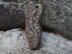 Ceramic pendant lizard raku by BlueBirdyDesign on Etsy, Tea Culture, Tin Containers, Ceramic Pendant, The Smoke, I Shop, Pendants, Pottery, Charmed, Handmade