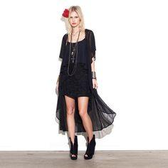 Valeria Skirt Black