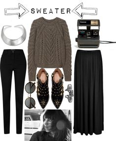 """---S w e a t e r---"" by hippierose on Polyvore"