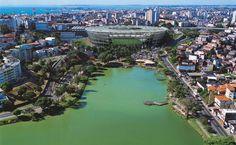Arena Fonte Nova stadium. Salvador, Bahia.