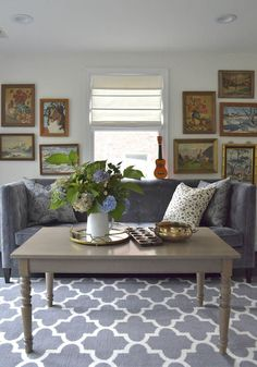 It isn't often that the talented folks at Design*Sponge feature a home located in DC, but when they do, they really pull out all the stops. Ibie and Jeff Falcusan purchased this 1941 brick colonial in the District five years...