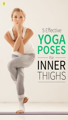 Named after the eagle, this yoga inner thigh stretch has many health benefits, including toning your lower body and thighs.