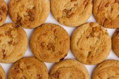 Ils sont si bons...Les biscuits aux pommes et aux brisures de caramel