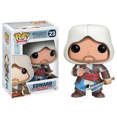 Funko POP Games Assassin's Creed Edward Action Figure http://popvinyl.net #funko #funkopop #popvinyls