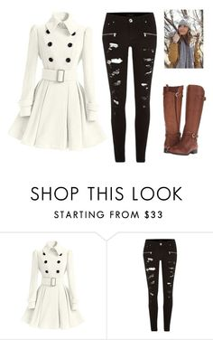 """""""Winter"""" by chox154 ❤ liked on Polyvore featuring River Island and Naturalizer"""