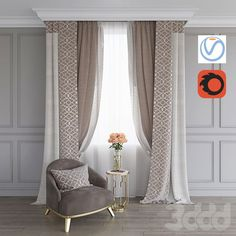 📌 Curtains for Windows or Living Room or Bathroom or Bedroom for Your House and Apartment Ideas « ANIPO Living Room Decor Curtains, Home Curtains, Bedroom Decor, Window Curtains, Curtain Ideas For Living Room, Curtains Behind Bed, Window Cornices, Modern Curtains, Curtain Styles