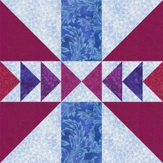 Use this Free Quilt Block Pattern to Sew the Chain and Bar Design: Make 12-Inch Chain and Bar Quilt Blocks