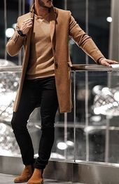 99 Perfect Winter Outfits Ideas That Are Need To Try - Although most of our . - 99 Perfect Winter Outfits Ideas That Are Need To Try – Although most of us as men seem to be care - Winter Outfits Men, Stylish Mens Outfits, Fall Outfits, Men's Casual Outfits, Winter Clothes, Simple Outfits, Best Mens Fashion, Mens Fashion Suits, Men's Fashion
