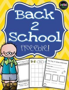 FREE! These are 6 free sample pages from our Back to School Bundle!  They are no-prep, beginning of the year activities that are great for the first week of school.  Checkout our FULL Back To School Bundle for over 90 more beginning of the year pages!Follow us by clicking link at the top of the page to receive notice when we add new products and freebies.