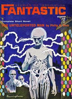 Fantastic.  Dec.1964 Cover Art. Lloyd Birmingham