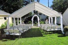 simple backyard wedding ideas