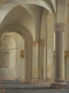 The Athenaeum - Interior of the Mariakerk, Utrecht (Peter Saenredam - ) Dutch Golden Age, Church Interior, Beneath The Surface, Utrecht, Dutch Painters, Museum Collection, Light Painting, Delft, Large Art