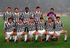 Juventus Coppa Uefa N. Roberto Baggio, Chelsea Fc, Fc Barcelona, Manchester United, La Champions League, Ronaldo Juventus, Europa League, Football Soccer, Old Women