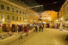Advent season at Alter Platz in Klagenfurt am Wörthersee. Photo: Franz Gerdl