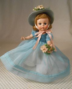 "Vintage Madame Alexander Kins #351 ""BLUE DANUBE"" from 1954 - So Pretty!"