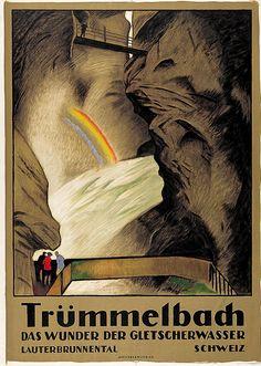 Trümmelbach - 1922 - (E. Cardinaux) -