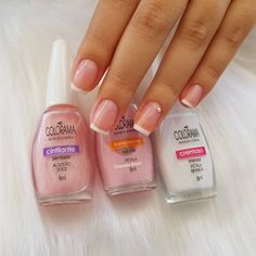 Manicure Pedicure Colors French Tips Ideas French Pedicure, Pedicure Colors, Pedicure At Home, Pedicure Designs, Manicure Y Pedicure, Nail Colors, Nail Art Designs, Nail Arts, Nail Inspo
