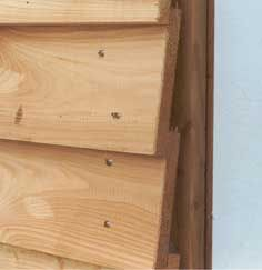 holzfassade mit st lpschalung diy pinterest. Black Bedroom Furniture Sets. Home Design Ideas