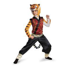 Disguise Tigress Deluxe Costume, Medium (7-8)